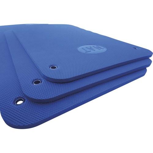 Yoga and pilates mat 15 mm   Blue