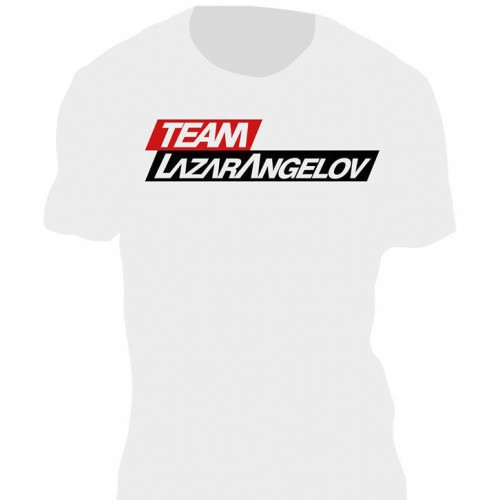 White T-shirt Team Lazar Angelov